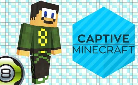 Aventure sur la carte Captive Minecraft