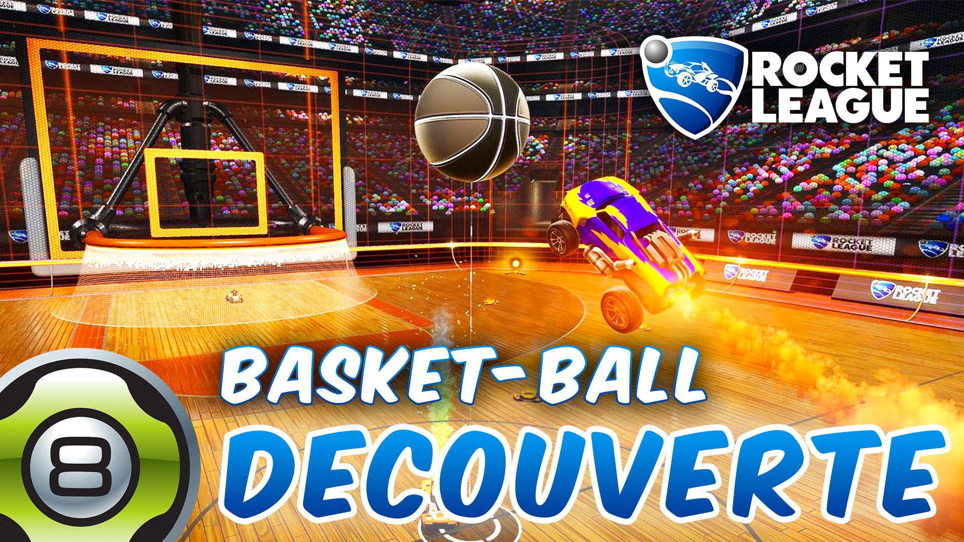 Découverte du nouveau mode Basket-ball de Rocket League