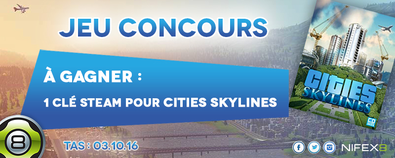 Concours Cities Skylines