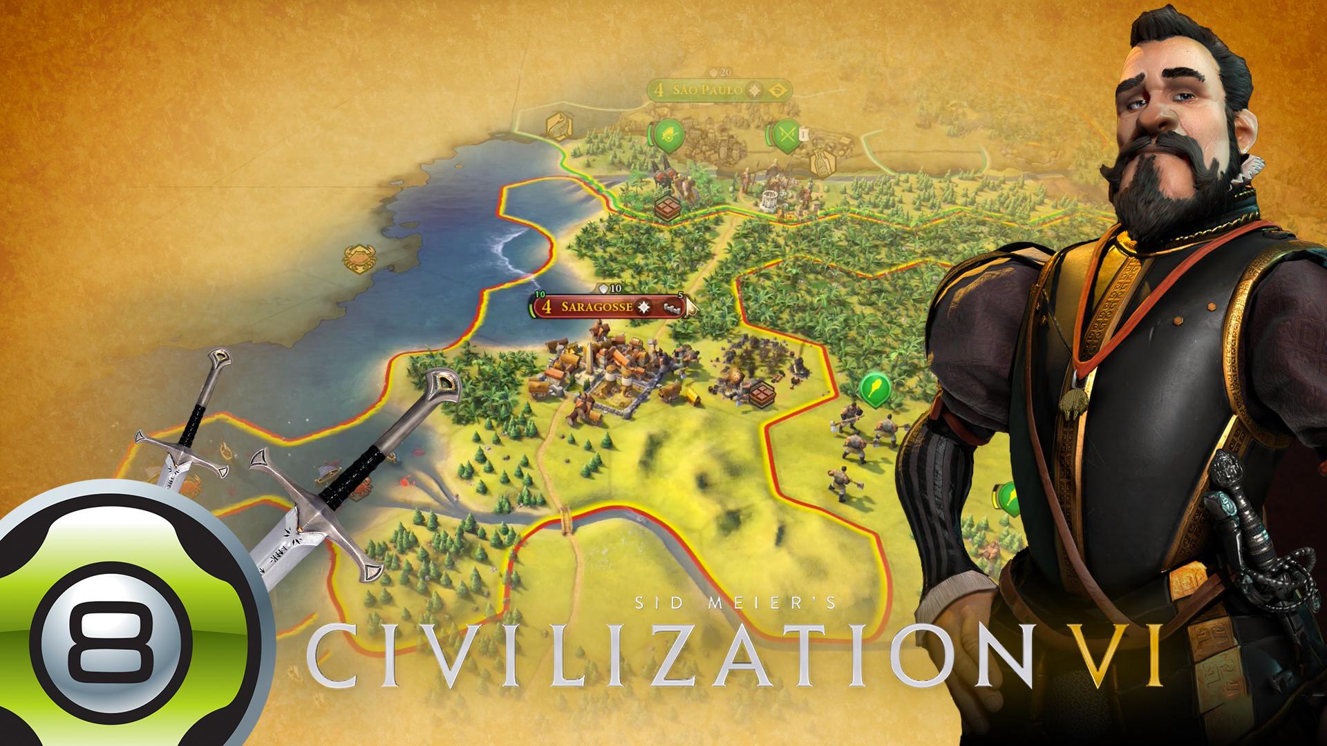 Let's Play sur Civilization VI