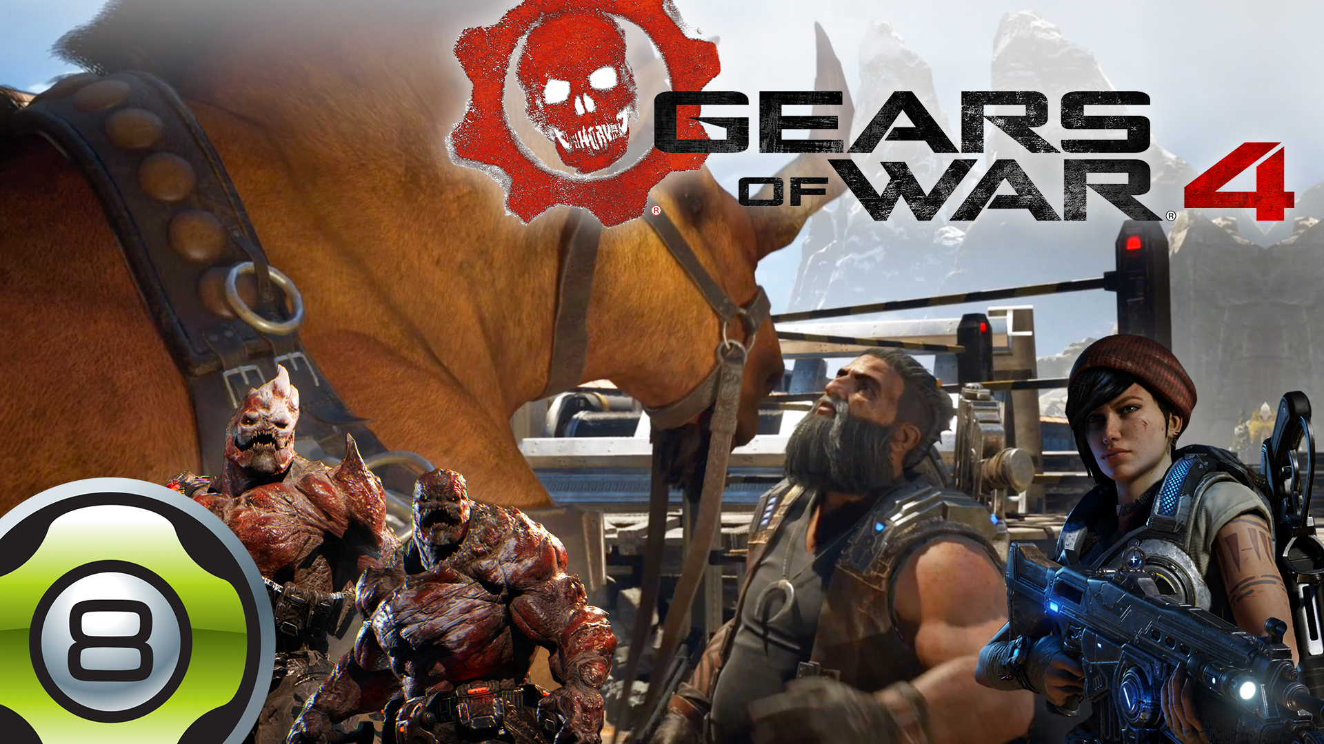 Let's Play sur Gears of War 4