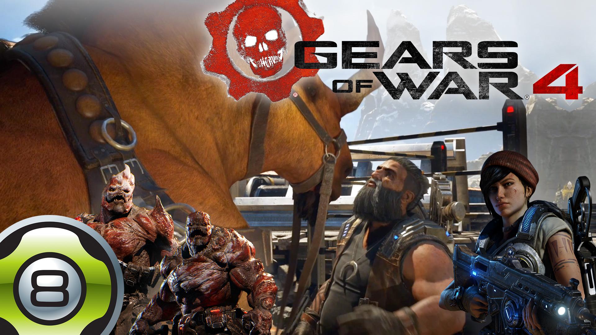 Let's Play sur Gears of War 4